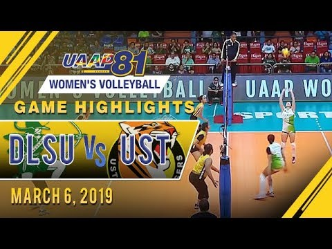 UAAP 81 WV: DLSU  vs. UST  | Game Highlights | March 6, 2019
