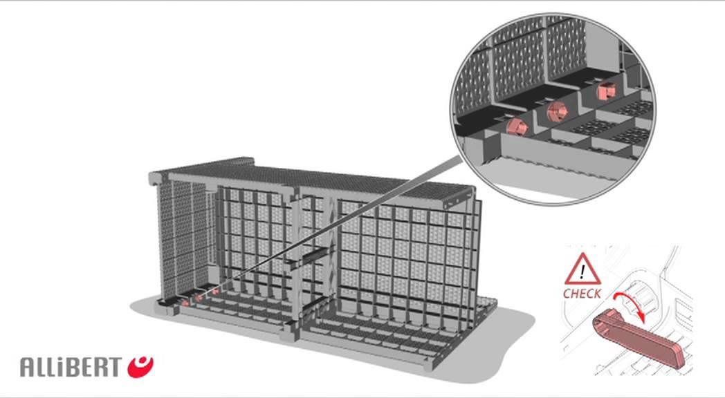allibert monaco lounge set assembly video youtube. Black Bedroom Furniture Sets. Home Design Ideas