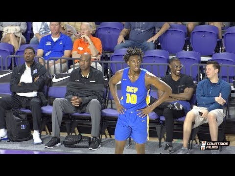 UNC Commit Nassir Little Highlights @ The City of Palms With Roy Williams Courtside!