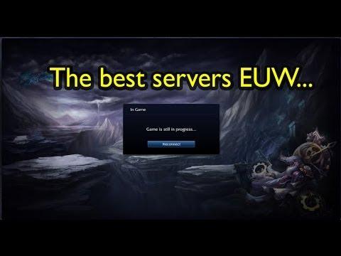The EUW LoL servers