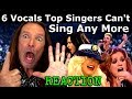 6 Hardest Vocals Top Singers Can't Sing Live  Anymore   Vocal Coach Ken Tamplin Reacts
