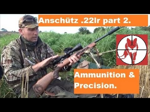 Anschütz  22lr projekt  Afprøvning og ammunition