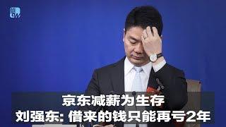 京东减薪为生存,刘强东:借来的钱只能再亏2年|华尔街人物(20190415)