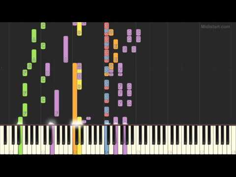 Bloc Party - One More Chance (Piano Tutorial) [Synthesia]