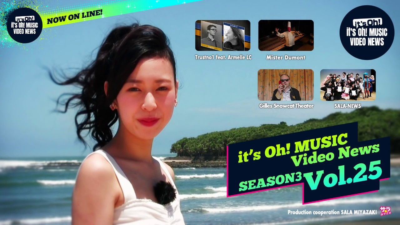 it's Oh! MUSIC Video News Season3 Vol.25 2015