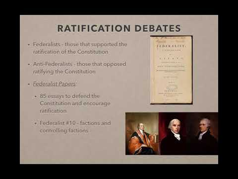 APUSH Review Video #15 The Constitutional Convention, Compromises