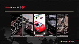 Forza Motorsport 4 original Menu Soundtrack 1