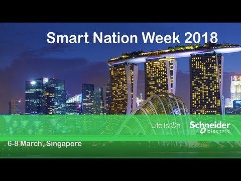 Schneider Electric Singapore: Smart Nation Week 2018