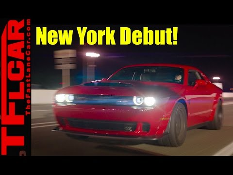 Live from New York! 2018 Dodge Demon Reveal Event!