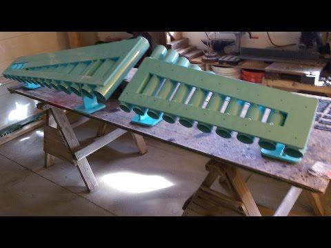 Aluminum xylophone build Part 1