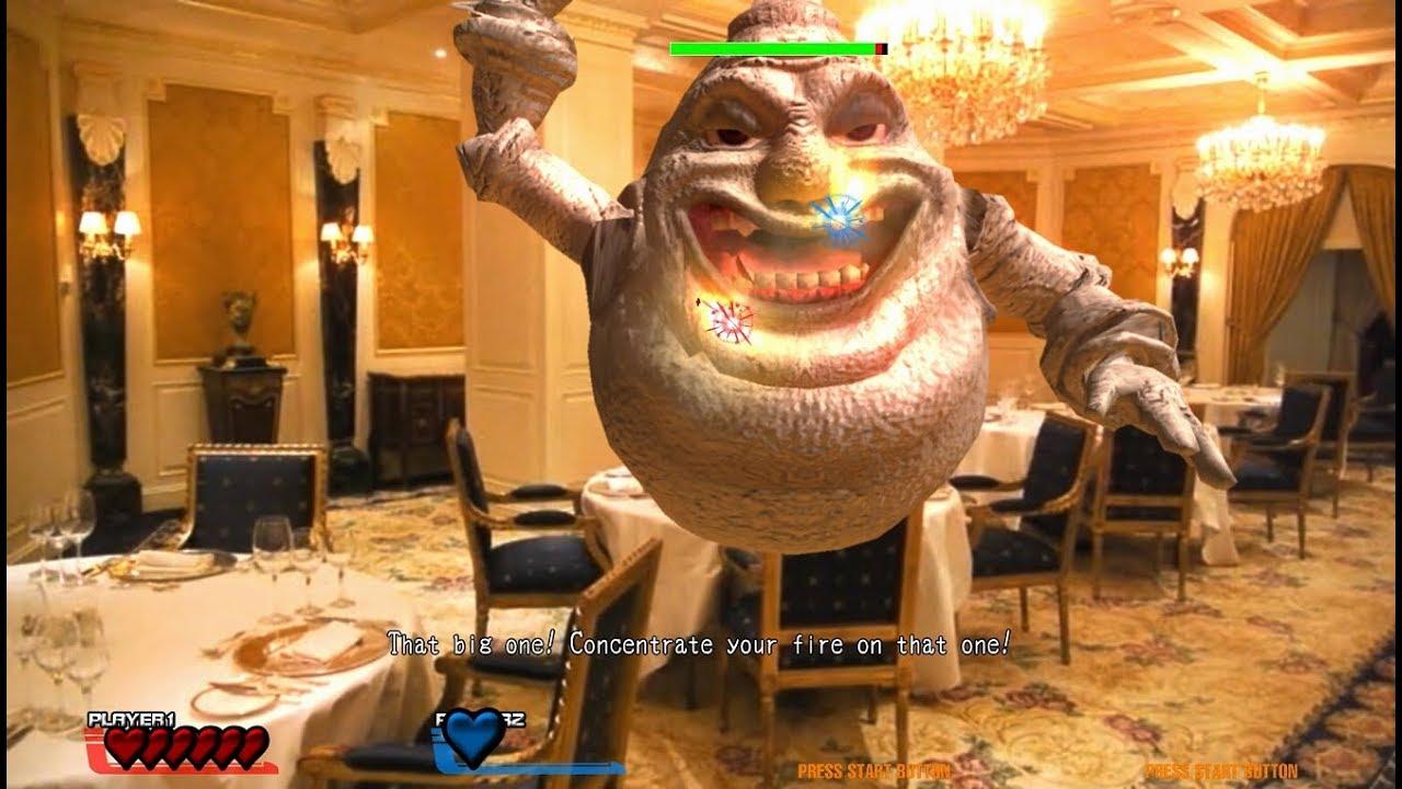 Gaia Attack 4 arcade 2 player 60fps