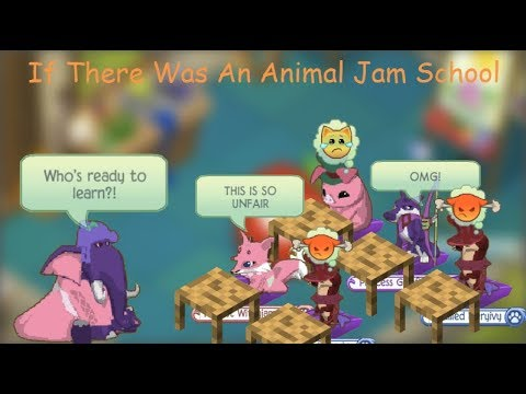 If There Was An Animal Jam School (Skit)