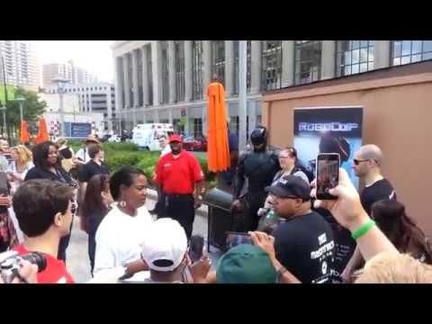 Detroit Celebrates Robocop Day 6-3-14