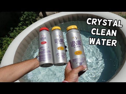 HOW TO MAINTAIN POOL SPA WATER CLEAN WITH LEISURE TIME CHEMICAL