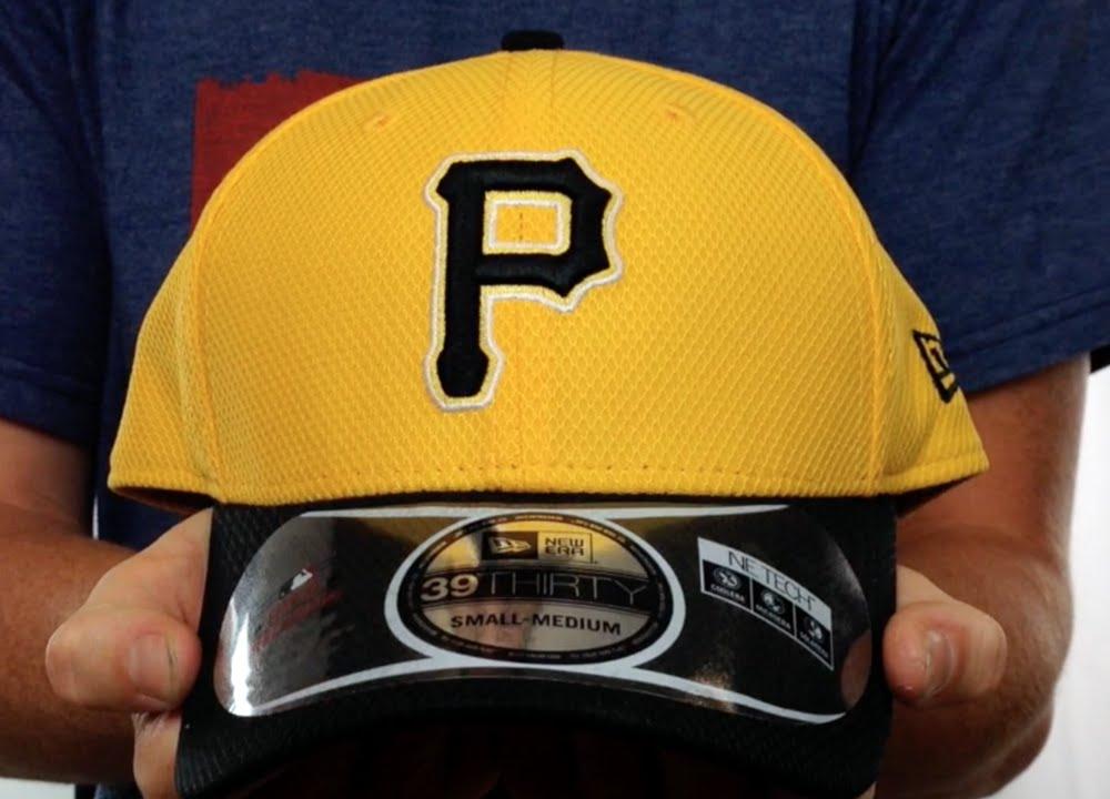 Pirates  DIAMOND ERA  39THIRTY Flex Gold-Black Hat by New Era - YouTube da9c78589af