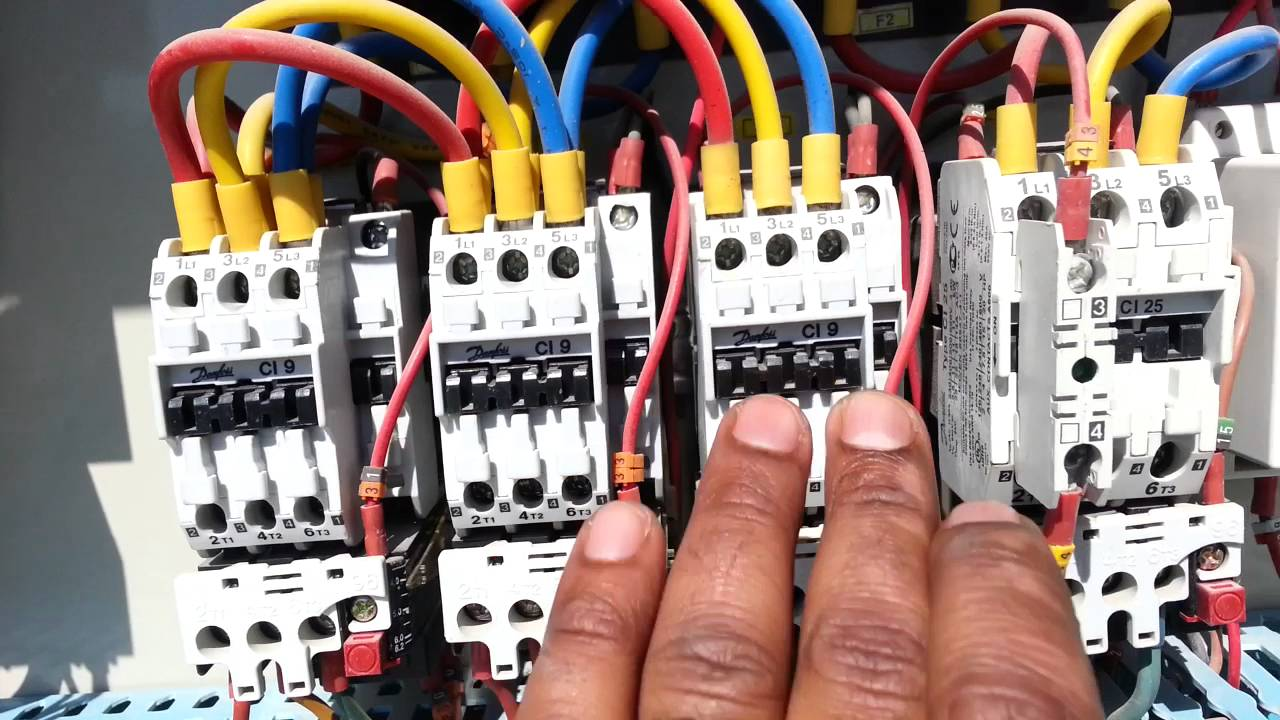 Wiring Diagram For Hvac Unit Painless Lt1 Package Ac Of Skm With Ddc Control Pannel Parts & Working Part 1 - Youtube