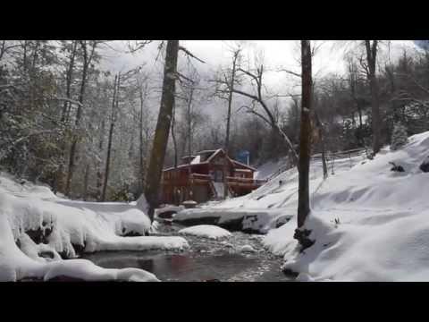 Winter Season at High Rock Log Cabin Vaction Rentals