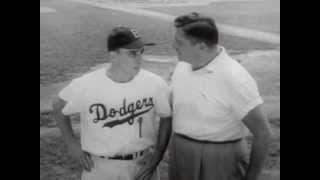 Gillette Super Speed Razors with the Dodgers Pee Wee Reese