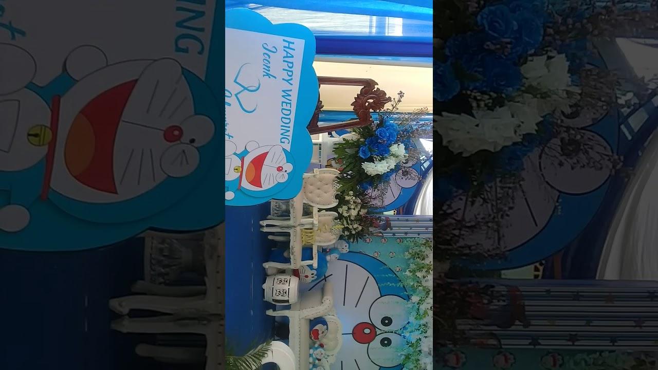 Pelaminan Doraemon Youtube