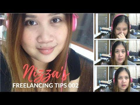 Freelancing Tips ni Nizza Video 02  | ♥ Nizza Mataray ♥