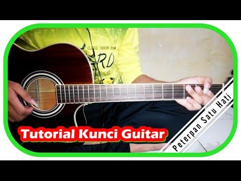 Tutorial Kunci Guitar ♬ Peterpan ♬ Satu Hati Full HD ✔