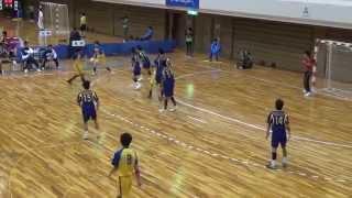 2013JOCハンドボール全国大会 福岡選抜VS群馬選抜