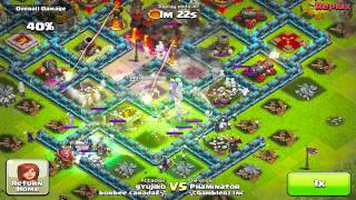 Repeat youtube video Clash of clans - Champ league gameplay