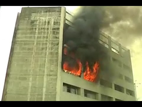 Kolkata: Fire breaks out at LIC building on Jawahar Lal Nehru road