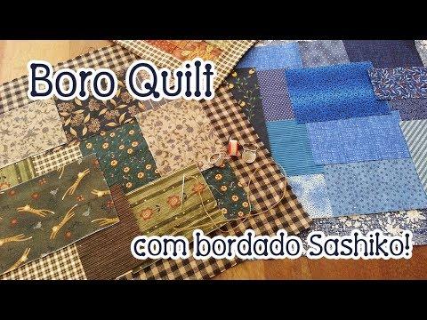 Dica da Tia Lili: Boro Quilt e Sashiko