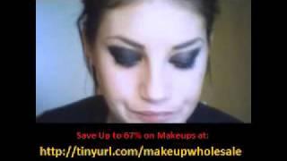 Halloween black make upTutorial --trucco occhi nero sbavato_HD.avi Thumbnail
