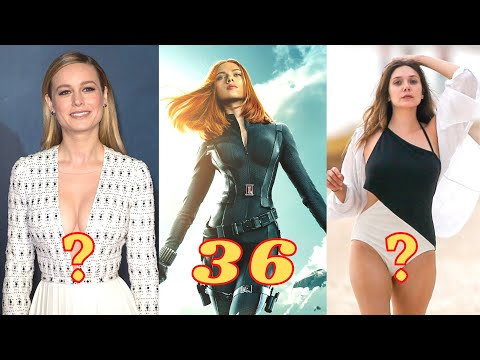 MCU Female Characters Real Name And Age 2021 (Before & After)💖Find Celeb's💖#Marvel
