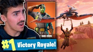 I BOUGHT THE LEGENDARY SKIN HUNTERS FROM HEAVEN AND I DID A DAMAGE! Fortnite: Bataille Royale