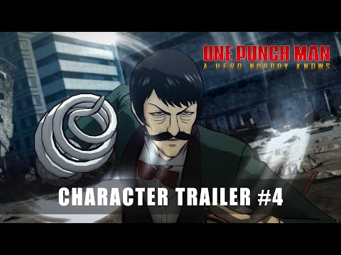 ONE PUNCH MAN: A HERO NOBODY KNOWS - CHARACTER TRAILER #4