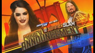Who Should AJ Styles Face At WWE SummerSlam 2018