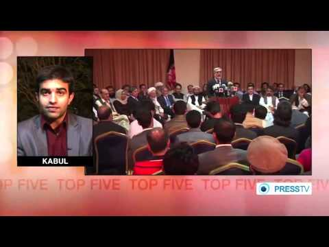 Afghanistan Election Prsidential Vote Announcement