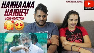 Kannaana Kanney Song Reaction | Malaysian Indian Couple | Viswasam | Ajith Kumar | Nayanthara
