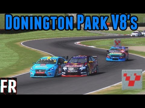 What If... V8 Supercars Raced At Donington Park ? (Rfactor 2)