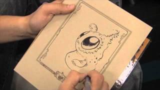 Chris Ryniak Sketching - Dragon*Con 2011