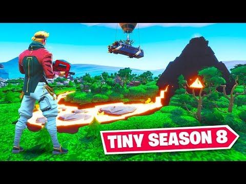 TINY Fortnite SEASON 8 Map! thumbnail