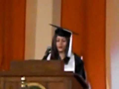 Jade Brewster's Graduation Speech