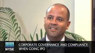 Corporate Governance and Compliance When Going IPO