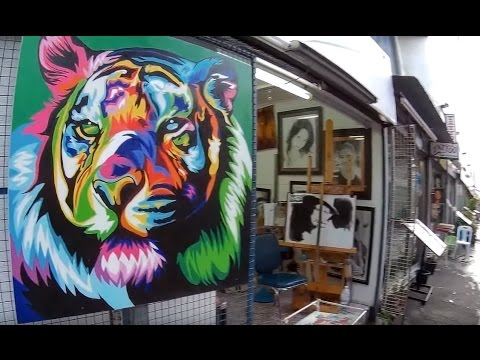 ART and TATTOO shops in Thailand. Pattaya Vlogg