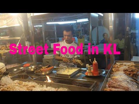 Street food at Bukit Bintang, KL, Malaysia
