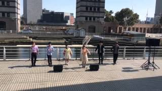 29 Mar. 2016 @みなとみらい シーカヤックパーク.