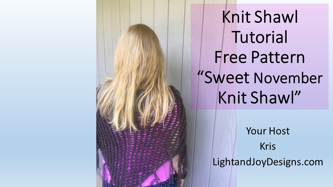 68201ec2d Free Pattern Knitting Tutorial