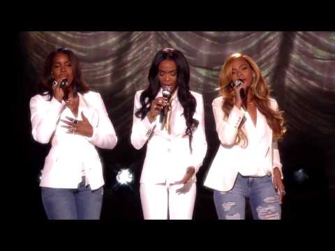 Michelle, Beyonce, Kelly Live We give you all the glory.