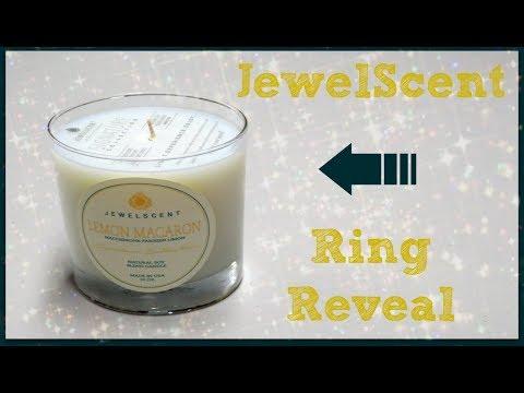 JewelScent Ring Reveal - Lemon Macaron Candle!