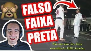 Falso Faixa Preta de Jiu Jitsu sendo Desmascarado!! thumbnail