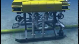 CTC Marine UT-1 Jet Trencher Animation