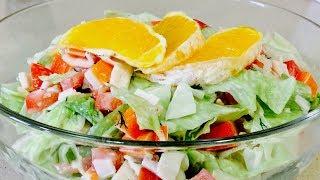 """🌶САЛАТ """"РАЙСКОЕ НАСЛАЖДЕНИЕ🌶 Этот невероятный салатик понравится даже гурманам🌶"""